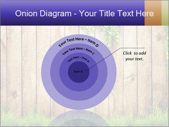 Fresh spring green grass PowerPoint Template - Slide 61