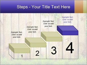 Fresh spring green grass PowerPoint Template - Slide 64