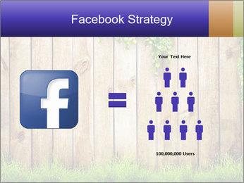 Fresh spring green grass PowerPoint Template - Slide 7