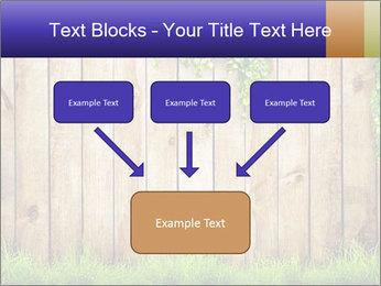 Fresh spring green grass PowerPoint Template - Slide 70