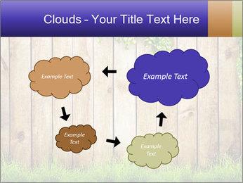Fresh spring green grass PowerPoint Template - Slide 72