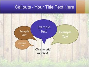 Fresh spring green grass PowerPoint Template - Slide 73