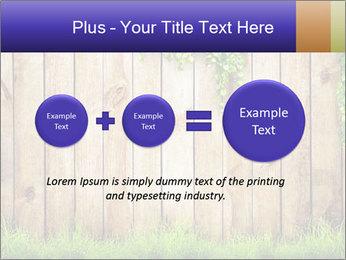 Fresh spring green grass PowerPoint Template - Slide 75