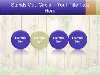Fresh spring green grass PowerPoint Template - Slide 76