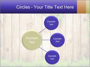 Fresh spring green grass PowerPoint Template - Slide 79