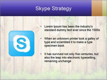 Fresh spring green grass PowerPoint Template - Slide 8
