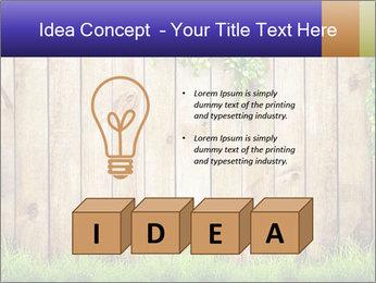 Fresh spring green grass PowerPoint Template - Slide 80