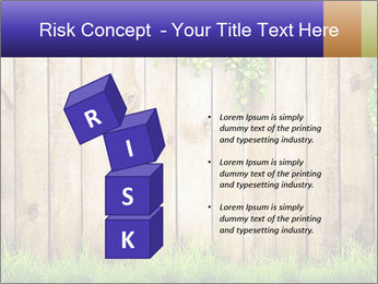 Fresh spring green grass PowerPoint Template - Slide 81