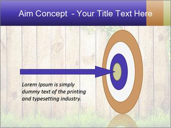 Fresh spring green grass PowerPoint Template - Slide 83