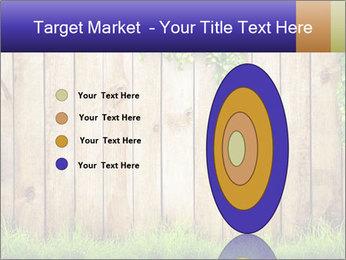 Fresh spring green grass PowerPoint Template - Slide 84