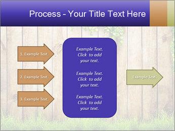 Fresh spring green grass PowerPoint Template - Slide 85