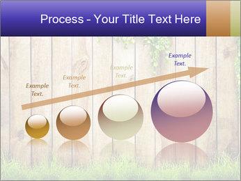 Fresh spring green grass PowerPoint Template - Slide 87