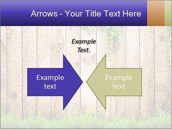 Fresh spring green grass PowerPoint Template - Slide 90