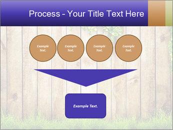 Fresh spring green grass PowerPoint Template - Slide 93