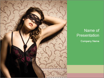 Fashion shoot PowerPoint Template - Slide 1