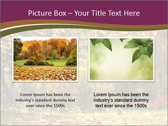 Autumn leaves PowerPoint Templates - Slide 18
