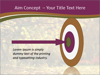 Autumn leaves PowerPoint Templates - Slide 83