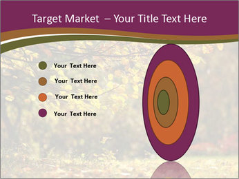 Autumn leaves PowerPoint Templates - Slide 84