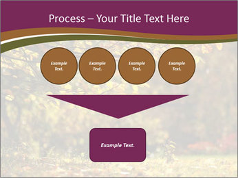 Autumn leaves PowerPoint Templates - Slide 93