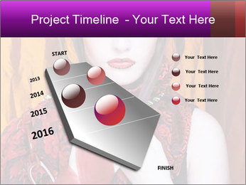 Creative lady PowerPoint Templates - Slide 26