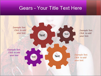 Creative lady PowerPoint Templates - Slide 47