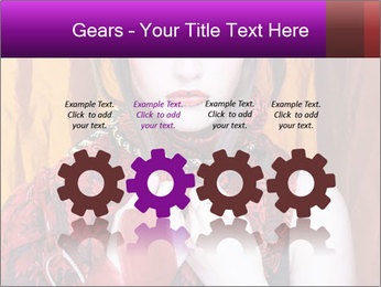 Creative lady PowerPoint Templates - Slide 48