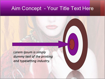 Creative lady PowerPoint Templates - Slide 83