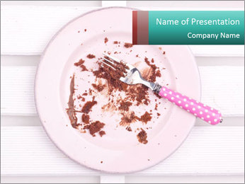 Dirty dish PowerPoint Templates - Slide 1