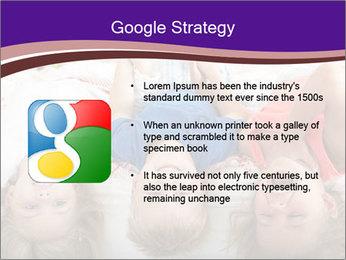 Children Down Bed PowerPoint Template - Slide 10