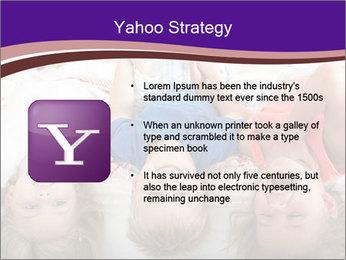 Children Down Bed PowerPoint Template - Slide 11