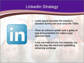 Children Down Bed PowerPoint Template - Slide 12