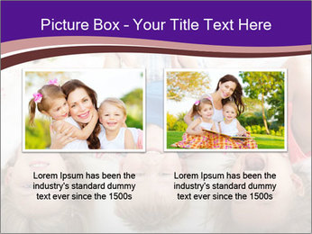 Children Down Bed PowerPoint Templates - Slide 18