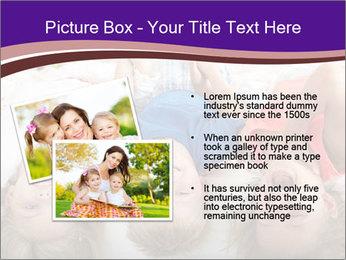 Children Down Bed PowerPoint Template - Slide 20