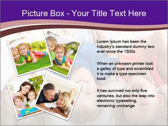 Children Down Bed PowerPoint Template - Slide 23