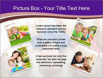 Children Down Bed PowerPoint Template - Slide 24