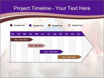 Children Down Bed PowerPoint Templates - Slide 25