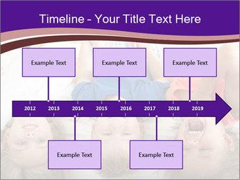 Children Down Bed PowerPoint Template - Slide 28