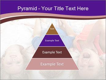 Children Down Bed PowerPoint Template - Slide 30