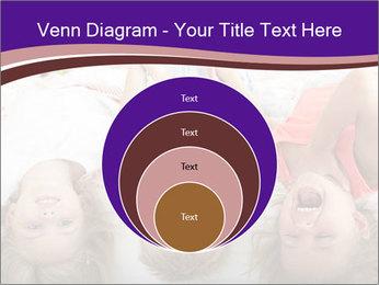 Children Down Bed PowerPoint Template - Slide 34