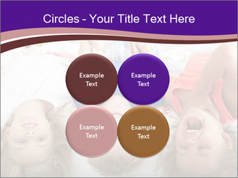 Children Down Bed PowerPoint Template - Slide 38