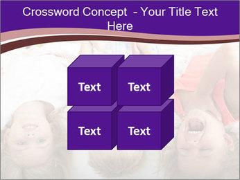 Children Down Bed PowerPoint Template - Slide 39