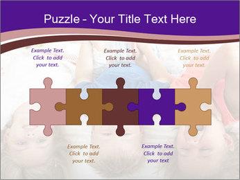 Children Down Bed PowerPoint Templates - Slide 41