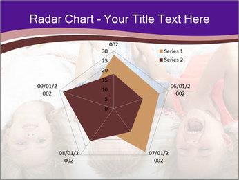 Children Down Bed PowerPoint Template - Slide 51