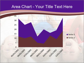 Children Down Bed PowerPoint Template - Slide 53
