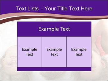 Children Down Bed PowerPoint Template - Slide 59