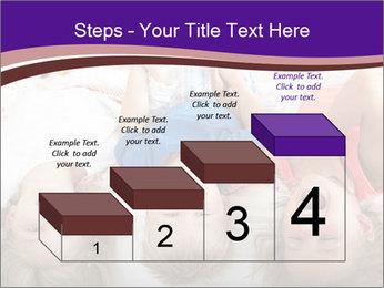 Children Down Bed PowerPoint Template - Slide 64