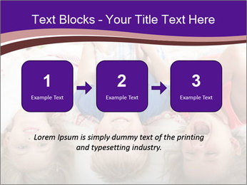 Children Down Bed PowerPoint Template - Slide 71
