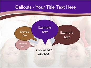 Children Down Bed PowerPoint Template - Slide 73