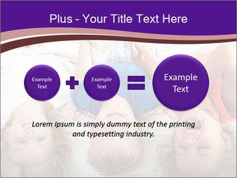 Children Down Bed PowerPoint Template - Slide 75