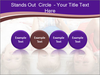 Children Down Bed PowerPoint Template - Slide 76
